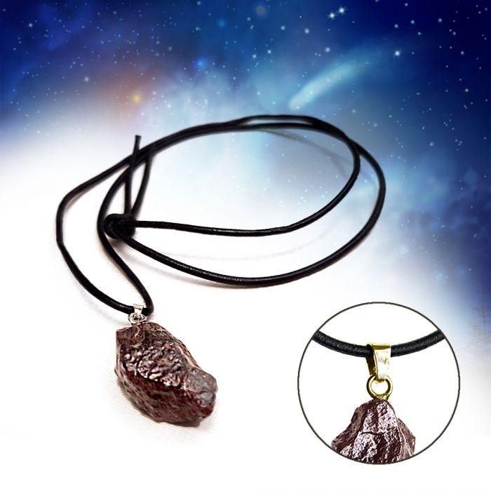 Meteorit Anhänger - Echter Sternenschmuck
