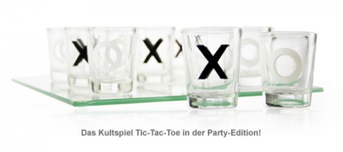 Party Trinkspiel - Tic-Tac-Toe