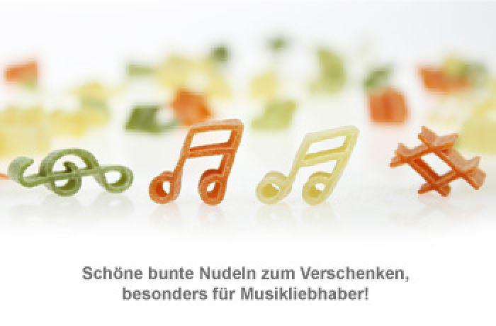 Pasta Musica - 250 g bunte Nudeln