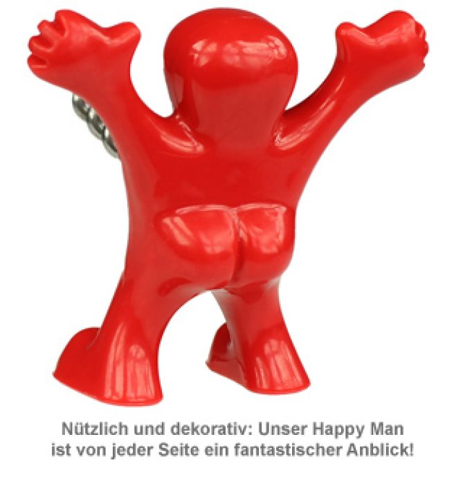 Penis Korkenzieher - Happy Man
