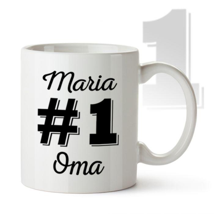 Personalisierte Tasse - Nummer 1 Oma