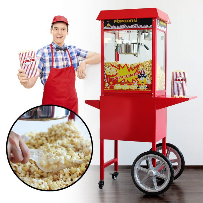 Machine à Popcorn avec Chariot – Version Premium