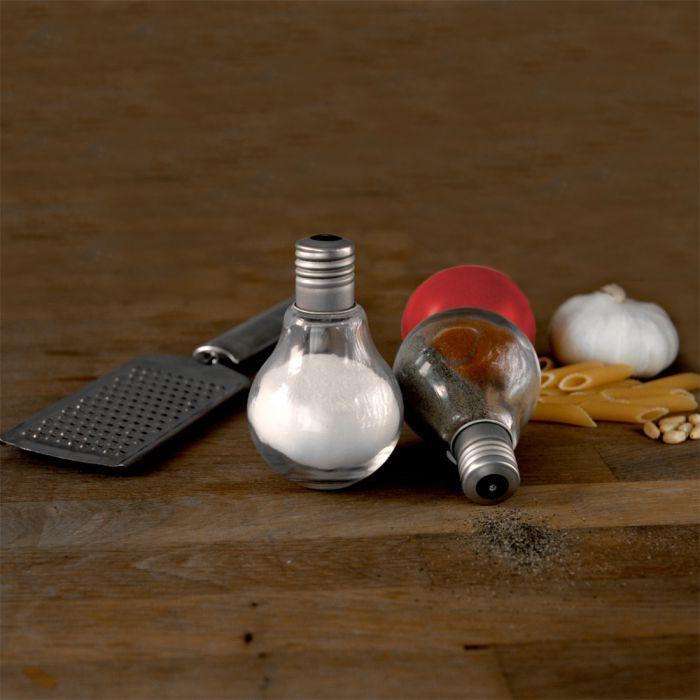 Salz und Pfeffer Streuer - Glühbirnen