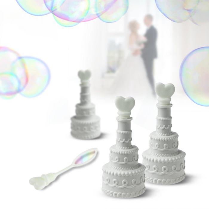 Seifenblasen zur Hochzeit - Hochzeitstorte