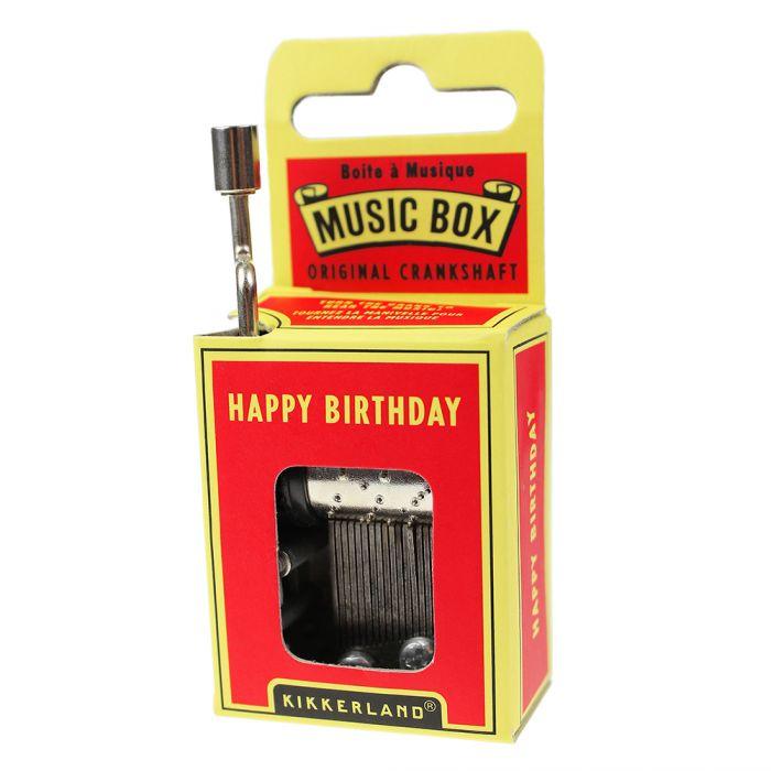 Boîte à musique - Happy Birthday