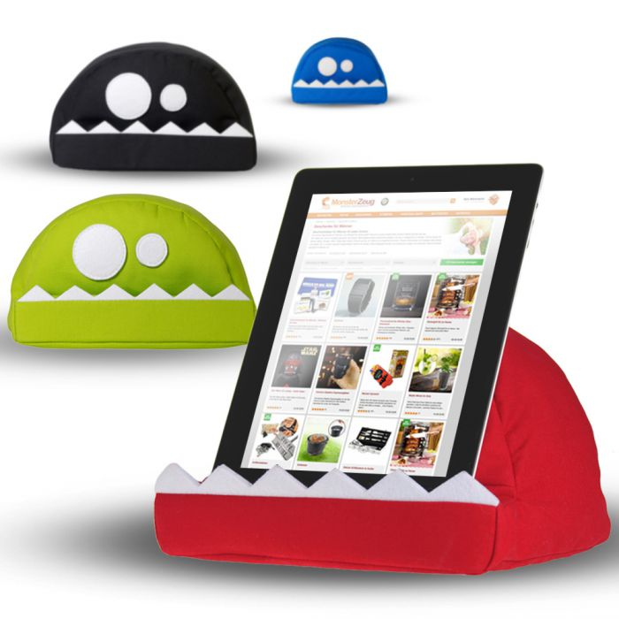 Kissen Für Tablet tablet kissen - fläzbag - monstermäßig praktisch
