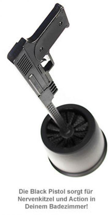 Toilettenbürste - Black Pistol