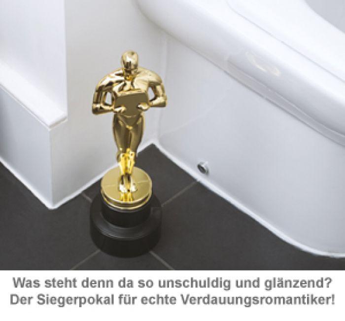 Toilettenbürste - Siegerpokal