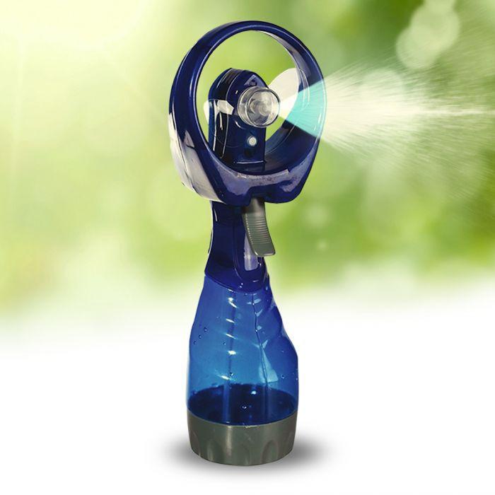 Ventilator mit Sprühflasche