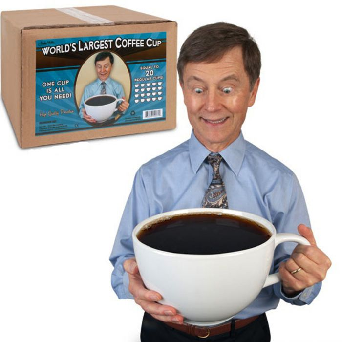 Weltgrößte Kaffeetasse