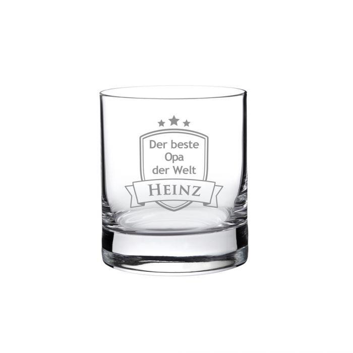 Whiskyglas mit Gravur - Bester Opa