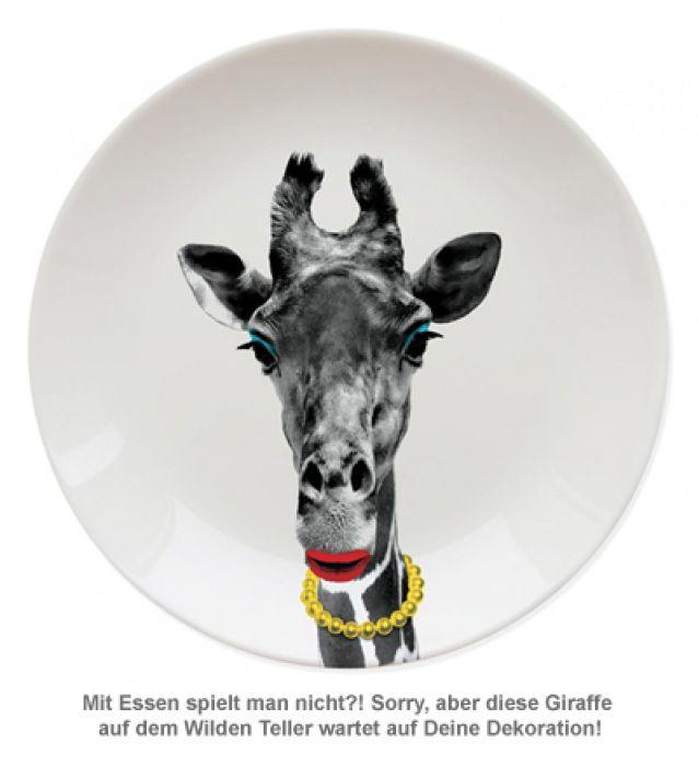 Wilder Teller - Giraffe