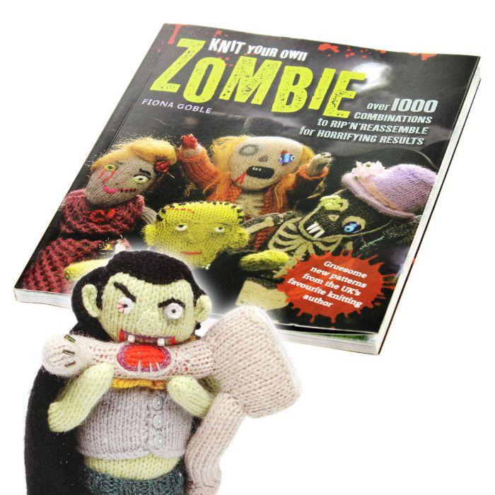 Livre de zombies en tricot