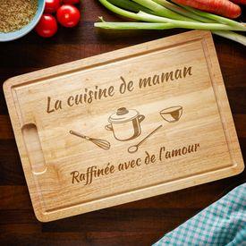 Planche  dcouper - La cuisine de maman