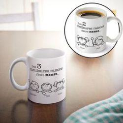 Tasse - Les meilleures raisons d'être maman