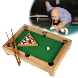 Mini table de billard - personnalise