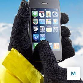 Handschuhe für Touchpad Bedienung - Größe M - Nikolausgeschenke