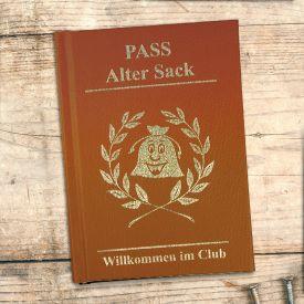 Clubausweis der Alten Säcke - Geburtstagsgeschenke für Männer