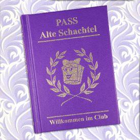 Clubausweis der Alten Schachteln - Anti Valentinstag Geschenke