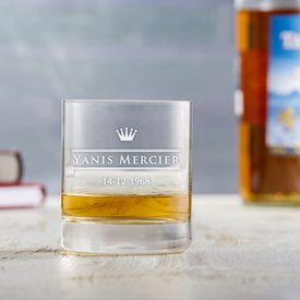 Personalisiertes Whiskyglas - Royal