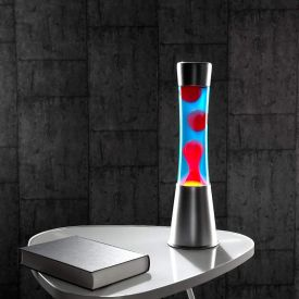 Lampe  lave deluxe rouge
