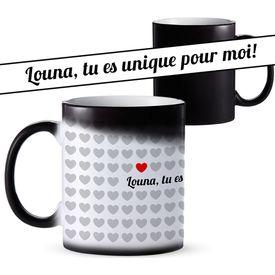 1000 Herzen - personalisierte Tasse