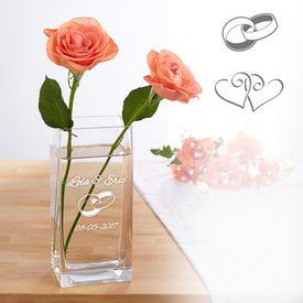 Vase pour le mariage - personnalise