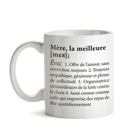 Tasse personnalise - Dfinition meilleure maman