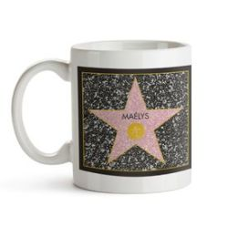 Star of Fame- Tasse personnalisée