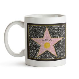 Star of Fame- Tasse personnalise