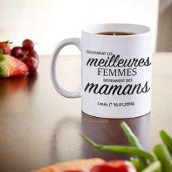 Tasse personnalisée - Promotion au grade de maman