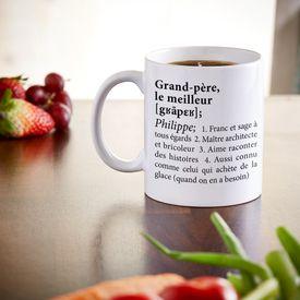 Personalisierte Tasse - Definition Weltbester Opa