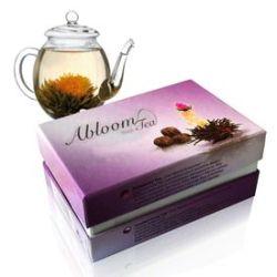 Coffret de 6 fleurs de thé - Thé noir