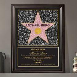 Star of Fame - personalisiertes Bild