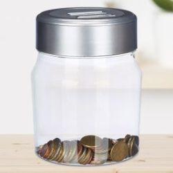 Spardose mit Zählwerk - Münzzähler