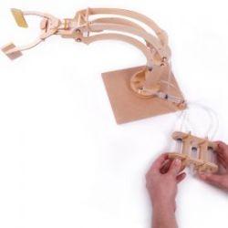 Hydraulischer Robotererarm zum Selberbauen