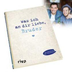 Buch zum Ausfüllen - Was ich an Dir liebe, Bruder