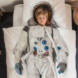 Kinder Bettwäsche Set - Astronaut