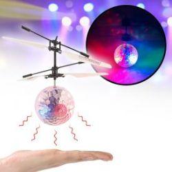 Hubschrauber Ball mit bunter LED-Beleuchtung