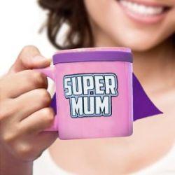 Tasse avec cape - Super Mum