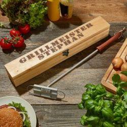 Grillbrandeisen Set mit Gravur