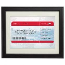 AIRLOVE Flugticket - personalisiertes Bild