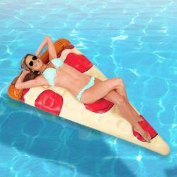 Aufblasbare Luftmatratze - Pizza