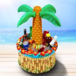 Palmier gonflable - rafraîchisseur de boisson