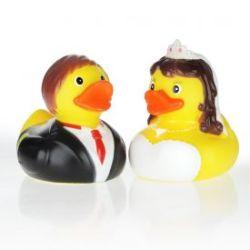 2 canards de bain – mariés
