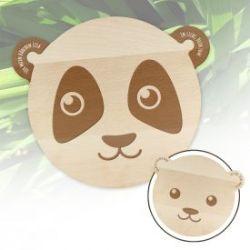 Bärenbrettchen mit Liebesgravur