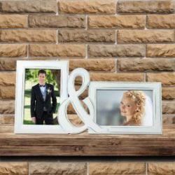 Bilderrahmen zur Hochzeit - Braut & Bräutigam