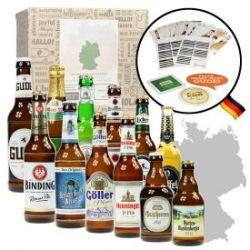 Bières allemandes – boîte cadeau de 12 pièces