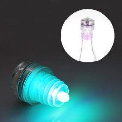 Bouchon de bouteille lumineux LED multicolore