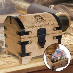 Geld Schatztruhe - Piratenschatz